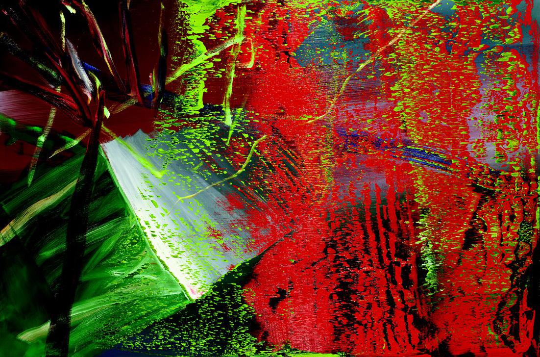 Abstract painting now gerhard richter katharina grosse for Art postmoderne