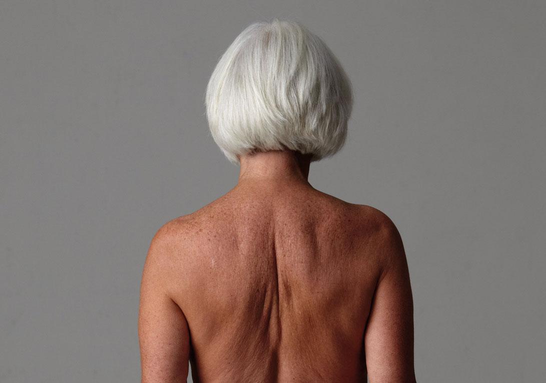 © Margot Pilz, aus der Serie Before/After (Ausschnitt), 1982/2010, Foto: Daniela Beranek © Margot Pilz /Bildrecht, Wien 2021