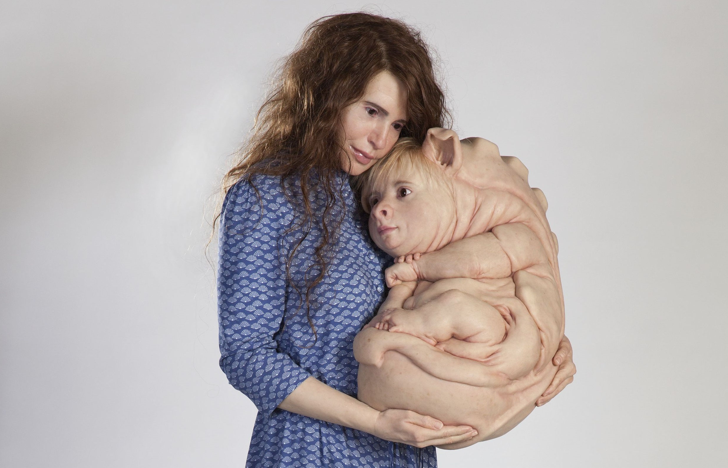 © Patricia Piccinini, The Young Family, 2002, Photo: Graham Baring, Courtesy of the artist